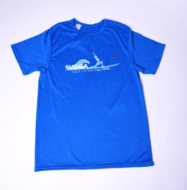 WOGA Shirt für Männer blau