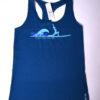 WOGA Instructor Shirt blau mit Logo